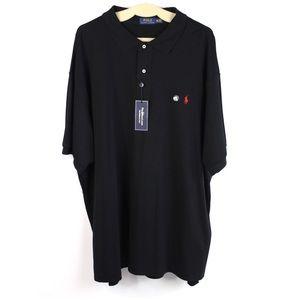 Polo Ralph Lauren Black Shirt Size 3XB Big Tall